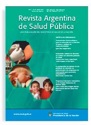 Revista Argentina de Salud Pública - Ministerio de Salud de la Nación